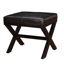 Leather Ottoman With Storage And Tray by Ottoman Mesmerizing Black Leather Ottoman Joveco Bonded