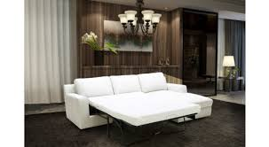 Leather White Sofa 5 White Leather Sectional Sofa Bed Alexis Sectional Sofa Bed In