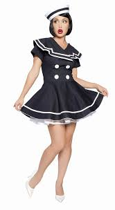 pin up girl costume buy pin up captain costume rm4094 from costume shop