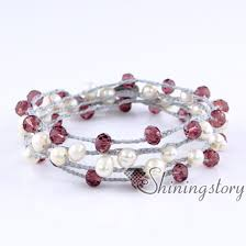 multi pearl bracelet images Multi strand pearl bracelet boho bracelets gypsy jewelry wholesale jpg
