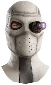 white mask spirit halloween amazon com rubie u0027s men u0027s squad deadshot overhead lighted