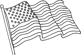 waving american flag coloring page wecoloringpage