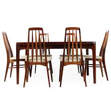 beautiful 1960s danish rosewood dining table and chairs n