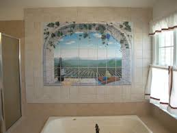 bathroom wall mural ideas bathroom wall ideas