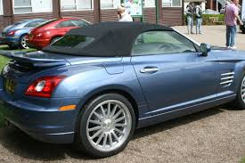 chrysler sports car chrysler crossfire srt6 roadster