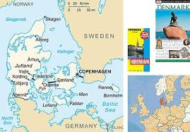 map of copenhagen a map of denmark orientation and inspiration in one