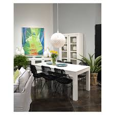 Dining Room Tables White Dovetail Miranda 60