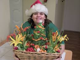 christmas fruit arrangements fruit carving vegetable carving garnishes and edible