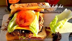 cuisiner un hamburger hamburger revisité à la plancha petits plats entre amis