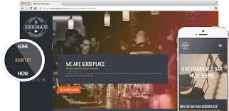 good place restaurant u0026 cafe responsive muse theme museshop net