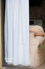 Making Blackout Curtains Diy No Sew Blackout Curtain Liners U2013 Seagrain Design