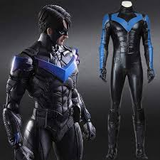 Halloween Costumes Nightwing Cheap Nightwing Batman Costume Aliexpress