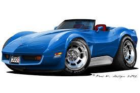 cartoon convertible car duc k design cartoon cars