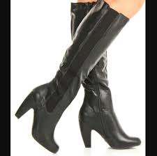 s shoes and boots size 9 50 bamboo shoes bamboo black heeled elastic calf boots size