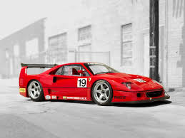 f40 bhp 1994 f40 lm at monterey rm auction this summer you can
