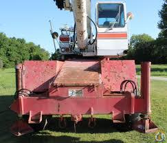 1985 fmc link belt hsp 8018 rough terrain crane crane for in