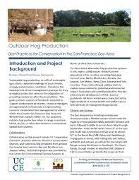 hog factsheets