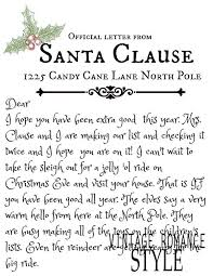 best 25 letter from santa ideas on pinterest elf letters santa