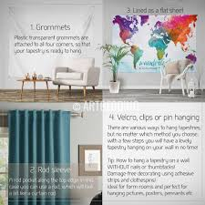 World Map Wall Poster by World Map Abstract Watercolor Wall Tapestry Grunge World Map Wall
