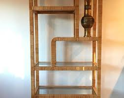 wicker etagere etsy