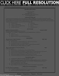 resume lesson plan templates template for college students best