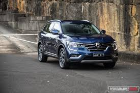 renault koleos 2017 renault koleos intens 4x4 review video performancedrive