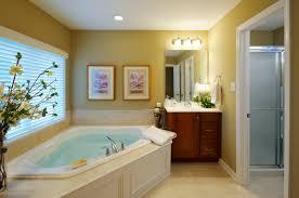 Corner Bathtub Ideas White Corner Bathtub On Brown Wooden Floor Plus Square Windows On