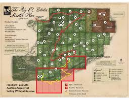 Big Sky Montana Trail Map by Freedom Pass Concierge Auctions
