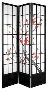 7 ft tall cherry blossom shoji screen asian screens and room