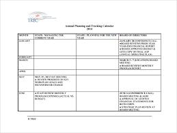 sample annual calendar template 11 free documents in pdf