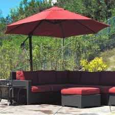 Sunbrella Replacement Canopy by Bar Furniture 10 Foot Patio Umbrella Large Cantilever Patio