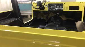 cj jeep yellow 1984 cj 7 jeep reflex spray on bedliner youtube