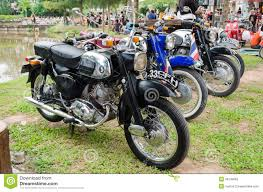 classic honda honda classic motorcycle editorial photography image of revival