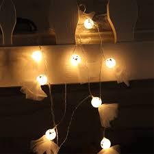 halloween ghost string lights 10leds ghost led string lights halloween decoration decorative lights