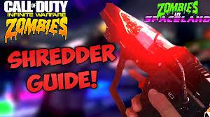 shredder weapon easy tutorial zombies in spaceland wonder