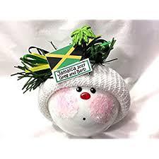 jamaica ornament caribbean island vacation souvenir