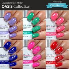 perfect match colors lechat perfect match oasis collection swatches by chickettes com