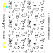 free summer coloring pages free printable summer coloring page ausdruckbare ausmalseite