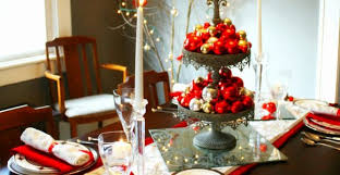 Christmas Centerpieces For The Dining Table by Dining Room Table Decorating Ideas For Christmas Archives Light