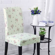online get cheap flower chair covers aliexpress com alibaba group agtysnz cheap universal light green dining room stool chair cover slipcovers purple flowers print chair covers