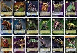 dinosaur king tcg series 1 base set silver foil cards 1 2 ebay