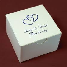 personalized box personalized favor boxes