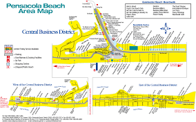 Casey Key Florida Map by Our Gulf Coast Vacation Rentals Map Pensacola Florida