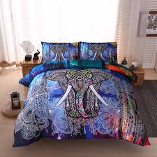 bedding set noteworthy bohemian elephant baby bedding superior