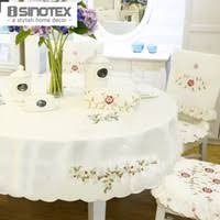 Round Kitchen Table Cloth by Embroidered Round Tablecloth Online Wholesale Distributors