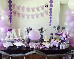 purple elephant baby shower decorations purple elephant baby etsy