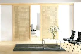 plastic room divider sliding dividers cost living doors interior