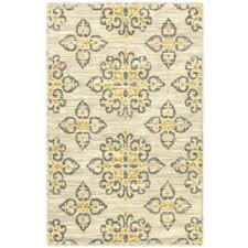 shaw living global tiles area rug gray yellow polyvore