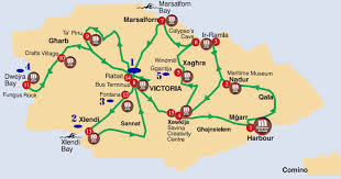 Waikiki Trolley Map In Soul Gozo The Other Big Maltese Island