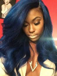 dyed weave hairstyles this hair color and this woman are gorgeous i wish i could dye my